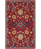 RugStudio presents Capel Charisma-Ziegler 116397 Scarlet Hand-Tufted, Good Quality Area Rug
