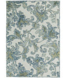 RugStudio presents Capel Balfour 121927 Cream Blue Hand-Tufted, Good Quality Area Rug