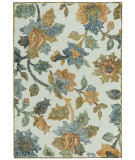 RugStudio presents Capel Balfour 121928 Cream Multi Hand-Tufted, Good Quality Area Rug