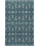 RugStudio presents Capel Hamlet 116479 Blue Hand-Tufted, Good Quality Area Rug