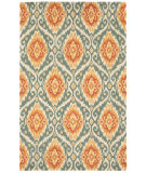 RugStudio presents Capel Malaysion 116320 Terra Cotta Hand-Tufted, Good Quality Area Rug
