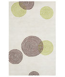RugStudio presents Capel Charisma-Jetson 116376 Beige Hand-Tufted, Good Quality Area Rug