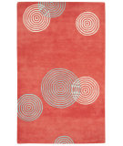 RugStudio presents Capel Charisma-Jetson 116377 Persimmon Hand-Tufted, Good Quality Area Rug