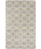 RugStudio presents Capel Charisma-Tile 116393 Silver Hand-Tufted, Good Quality Area Rug