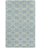 RugStudio presents Capel Charisma-Tile 116394 Sky Blue Hand-Tufted, Good Quality Area Rug