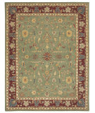 RugStudio presents Capel Charisma-Sarouk 116388 Thyme Hand-Tufted, Good Quality Area Rug