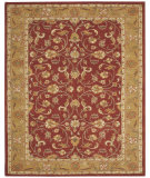 RugStudio presents Capel Charisma-Sarouk 116389 Red Pepper Hand-Tufted, Good Quality Area Rug