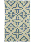 RugStudio presents Capel Ben 116414 Med. Blue Hand-Tufted, Good Quality Area Rug