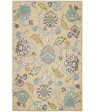 RugStudio presents Capel Pagoda 116408 Buff Hand-Tufted, Good Quality Area Rug