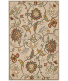 RugStudio presents Capel Pagoda 116409 Light Tan Hand-Tufted, Good Quality Area Rug