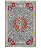 RugStudio presents Capel Burgos 116302 Ash Hand-Tufted, Good Quality Area Rug