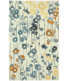 RugStudio presents Capel Branch 121930 Ecru Ash Hand-Tufted, Good Quality Area Rug