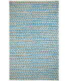 RugStudio presents Capel Spear 116216 Beige Blue Hand-Tufted, Good Quality Area Rug