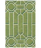 RugStudio presents Capel Ironworks 121949 Spa Green Hand-Tufted, Good Quality Area Rug