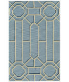 RugStudio presents Capel Ironworks 121950 Pale Blue Hand-Tufted, Good Quality Area Rug