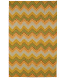 RugStudio presents Capel Irish Stitch 120 Honey Moss Flat-Woven Area Rug