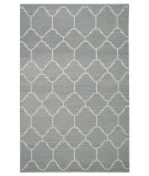 RugStudio presents Capel Serpentine 62743 Steel Grey Flat-Woven Area Rug