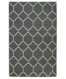 RugStudio presents Capel Serpentine 62742 Smoke Flat-Woven Area Rug