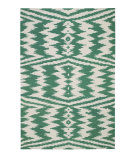 RugStudio presents Capel Junction 62702 Dark Green Flat-Woven Area Rug