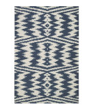 RugStudio presents Rugstudio Sample Sale 62701R Blue Flat-Woven Area Rug