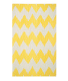RugStudio presents Capel Insignia 62690 Yellow Flat-Woven Area Rug