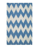 RugStudio presents Rugstudio Sample Sale 62688R Med. Blue Flat-Woven Area Rug