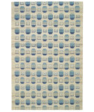 RugStudio presents Capel Davenport 62671 Blue Flat-Woven Area Rug