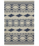 RugStudio presents Capel Heirs 67057 Blue Flat-Woven Area Rug