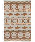 RugStudio presents Capel Heirs 67058 Cinnamon Flat-Woven Area Rug