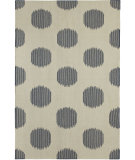 RugStudio presents Capel Spots 67135 Blue Woven Area Rug