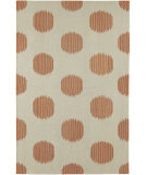 RugStudio presents Capel Spots 67136 Cinnamon Flat-Woven Area Rug