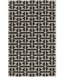 RugStudio presents Capel Grecian 80990 Deep Grey Flat-Woven Area Rug