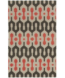 RugStudio presents Capel Spain 80971 Smoke Apricot Flat-Woven Area Rug