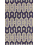 RugStudio presents Capel Spain 80970 Amethyst Violet Flat-Woven Area Rug