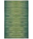 RugStudio presents Capel Beam 116295 Green Flat-Woven Area Rug