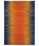 RugStudio presents Capel Beam 116300 Tangerine Flat-Woven Area Rug