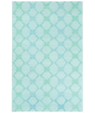 RugStudio presents Capel Coastline 116431 Light Green Flat-Woven Area Rug