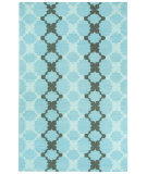 RugStudio presents Capel Coastline 116434 Ocean Chestnut Flat-Woven Area Rug
