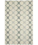 RugStudio presents Capel Coastline 116435 Eggshell Flat-Woven Area Rug