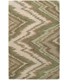 RugStudio presents Capel Pisa 62722 Green Hand-Tufted, Good Quality Area Rug