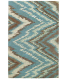 RugStudio presents Capel Pisa 62721 Blue Hand-Tufted, Good Quality Area Rug