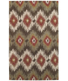 RugStudio presents Capel Rally 62726 Green Olive Hand-Tufted, Good Quality Area Rug