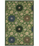 RugStudio presents Capel Patricia 116404 Green Hand-Tufted, Good Quality Area Rug