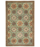 RugStudio presents Capel Yates 116219 Seafoam Hand-Tufted, Good Quality Area Rug