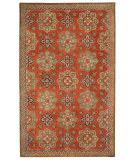 RugStudio presents Capel Yates 116221 Chestnut Hand-Tufted, Good Quality Area Rug