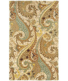 RugStudio presents Capel Boteh 116364 Camel Hand-Tufted, Good Quality Area Rug