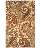 RugStudio presents Capel Boteh 116365 Zest Multi Hand-Tufted, Good Quality Area Rug