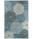 RugStudio presents Capel Balfour 116230 Silver Hand-Tufted, Good Quality Area Rug