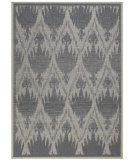 RugStudio presents Capel Udorn-Flower 80985 Blue Machine Woven, Good Quality Area Rug