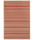 RugStudio presents Capel Elsinore-Afghan 116265 Red Pepper Machine Woven, Good Quality Area Rug